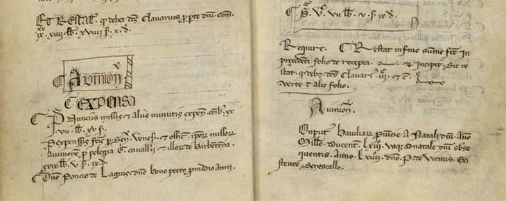 Répertoire des comptes du XIIIe siècle